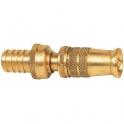 Lance d'arrosage laiton striée - Ø tuyau 18 mm - Non démontable - Puteus