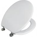 Abattant WC Blanc double - Fixation à expansion - Objecta - Pressalit Seats