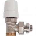 """Robinet de radiateur équerre thermostatique - M 1/2"""" - RBM"""