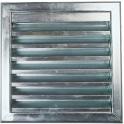 Grille d'aération acier - 500 x 500 mm - 521 - Renson