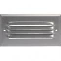 Grille d'aération aluminium - 140 x 190 mm - Avec moustiquaire - Anjos