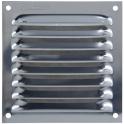 Grille d'aération inox - 100 x 200 mm - Autogyre