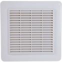 Grille de ventilation blanche - 226 x 323 mm - Avec anti insectes - Nicoll