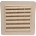 Grille de ventilation avec grille anti insectes - Couleur sable - 226 x 323 mm - Nicoll