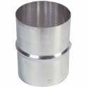 Jonction aluminium - Ø 100 mm - Pour VMC - Tolerie Emaillerie Nantaise