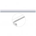 Tube droit blanc - 1060 mm - Ø 33 mm - Ergosoft - Pellet ASC