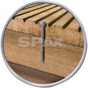 Vis bois tête cylindrique T25 - Ø 5 mm - 50/22,5 mm - Inox - Boîte de 200 pièces - Spax