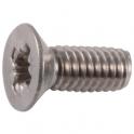 Vis métaux tête fraisé PZ3 - Ø 6 mm - 60 mm - Inox - Boîte de 50 pièces - Viswood