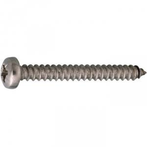 Vis tôle tête cylindrique bombé PZ2 - Ø 4,2 mm - 22 mm - Inox - Boîte de 200 pièces - Acton