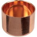 Bouchon cuivre rond à souder - Femelle - Ø 54 mm - Conex / Bänninger