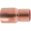 Raccord cuivre réduit à souder - Mâle / femelle - Ø 14 - 10 mm - Frabo