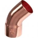 Raccord cuivre coudé 45° à souder - Mâle / femelle - Ø 42 mm - Conex / Bänninger