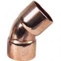 Raccord cuivre coudé 45° à souder - Femelle - Ø 28 mm - Conex / Bänninger