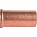 """Douille cuivre droit - Pour écrou F 1/2"""" - Ø 12 mm - Hecapo"""