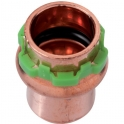 Bouchon cuivre rond à sertir - Femelle - Ø 16 mm - Comap