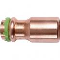 Raccord cuivre réduit à sertir - Mâle / femelle - Ø 15 - 12 mm - Comap
