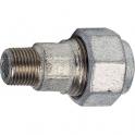 "Raccord fonte galva droit à serrage - M 1""1/4 à serrage - Femelle Ø 40 mm - Virfollet & cie"