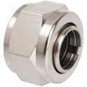 "Écrou laiton hexagonal à serrage - F 3/8"" - Ø 10 mm - Rapido - RBM"
