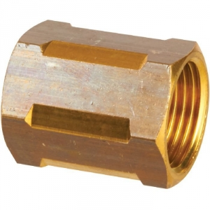 "Raccord laiton hexagonal à visser - F 1/2"" - Sobime"
