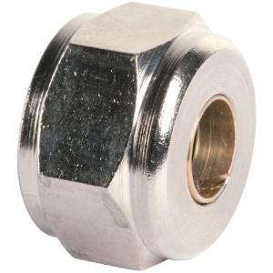 "Écrou laiton hexagonal à serrage - F 3/8"" - Ø 12 mm - Rapido - RBM"