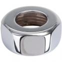 Écrou laiton chromé hexagonal à visser - F 3/4' - Ø 16 mm - Comap
