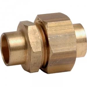 Raccord union laiton droit à souder - Femelle - Ø 14 mm - Sobime