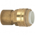 Raccord laiton droit à emboîtement - F 1/2' - Ø 16 mm - Itap-Fit - Itap
