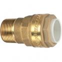 Raccord laiton droit à emboîtement - M 1/2' - Ø 16 mm - Itap-Fit - Itap