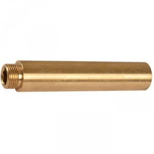 """Rallonge laiton droit à visser - M 3/4"""" - F 3/4"""" - 75 mm - Thermador"""