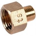 Raccord laiton hexagonal réduit à visser - M 1'1/4 - F 2' - Comap
