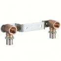 """Applique multicouche double avec support décalé à sertir - Ø 16 mm - F 1/2"""" - Comap"""