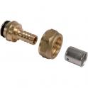 Adaptateur PER droit à sertir - Femelle M22 - Ø 16 mm - Comap