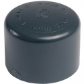 Bouchon PVC pression noir - Ø 32 mm - Girpi