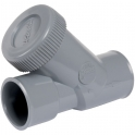 Clapet anti-retour PVC gris - Ø 40 mm - Nicoll