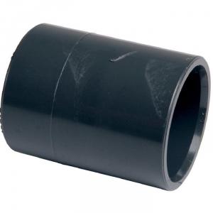Raccord PVC pression noir - Femelle Ø 40 mm - Girpi