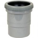 Raccord de dilatation PVC gris - Mâle / femelle Ø 80 mm - Nicoll