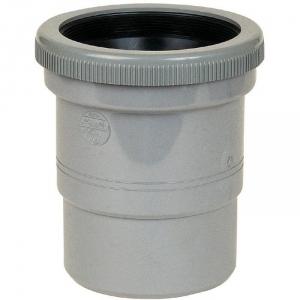 Raccord de dilatation PVC gris - Mâle / femelle Ø 125 mm - Nicoll