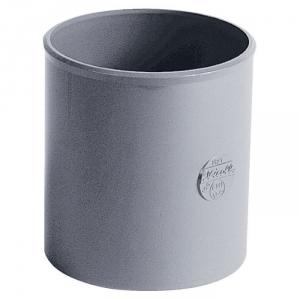 Raccord PVC gris - Femelle Ø 50 mm - Nicoll