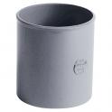 Raccord PVC gris - Femelle Ø 100 mm - Nicoll
