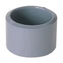 Raccord PVC gris réduit - Mâle / femelle Ø 50 - 40 mm - Girpi