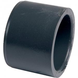 Raccord PVC pression noir réduit - Mâle / femelle Ø 50 - 40 mm - Girpi