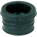 Tampon de réduction élastomère noir - Femelle - PVC Ø 50 mm - Métal Ø 12 à 40 mm - Nicoll