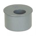 Tampon de réduction PVC gris - Femelle - Ø 125 - 100 mm - Girpi