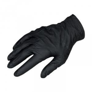 Gant jetable noir - Vendu par 100 - Taille M - Black mamba