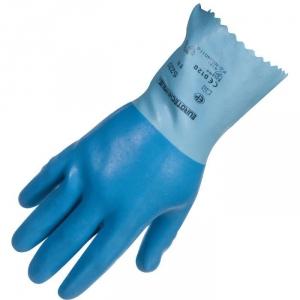 Gant de ménage latex adhérisée - La paire - Taille 9 - Eurotechnique