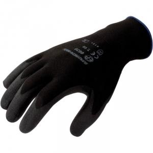 Gant polyester noir - La paire - Taille 7 - Eurotechnique