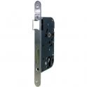 Serrure à larder noire réversible à fouillot - Clé I - Axe à 50 mm - Série T4130 - Tesa