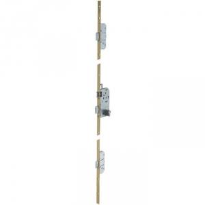 Serrure multipoint bronze gauche à fouillot - Clé I - Axe à 50 mm - Trilock 5000 A2P* - Vachette