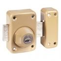 Verrou à cylindre - Cylindre 53 mm - Pêne 110 mm - Toro - Mul-T-lock