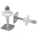 Tige avec plaquette soudée - 140 mm - Ø 8 mm - Sachet de 2 - Plombelec